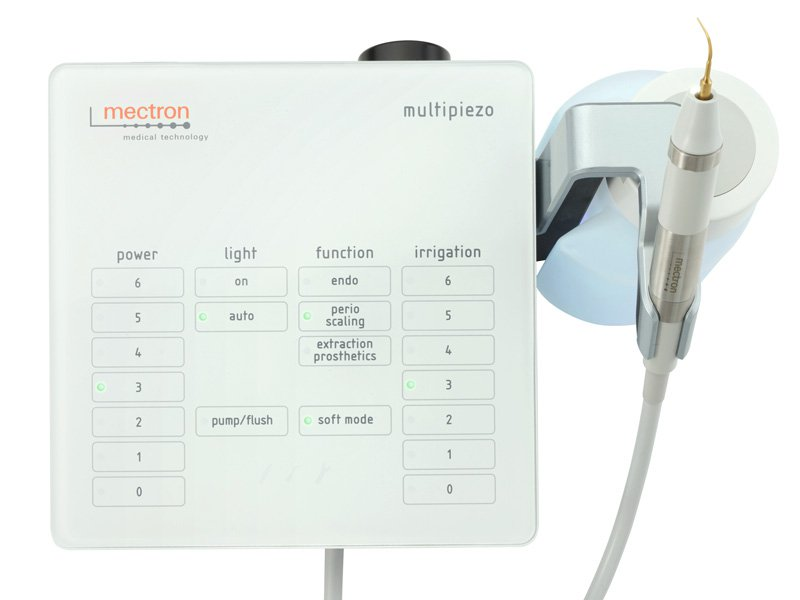 Self-inclusive ultrasonic scaler Multipiezo WHITE